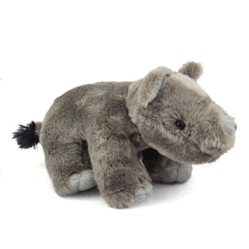 Baby Stuffed Rhino Mini Cuddlekin by Wild Republic