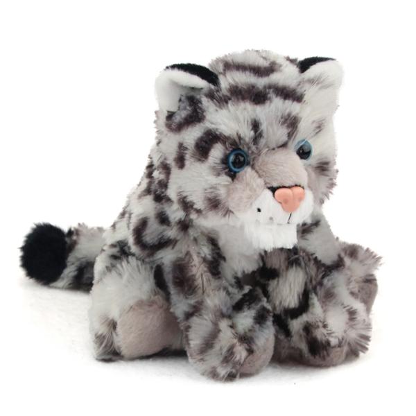 Baby Stuffed Snow Leopard Mini