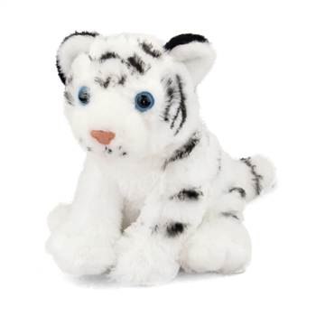 Baby Stuffed White Tiger Mini Cuddlekin by Wild Republic