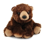 Stuffed Brown Bear Mini Cuddlekin by Wild Republic