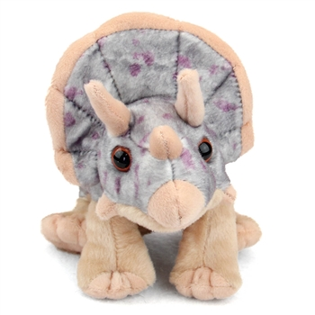 Stuffed Triceratops Mini Cuddlekin by Wild Republic