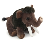 Stuffed Woolly Mammoth Mini Cuddlekin by Wild Republic