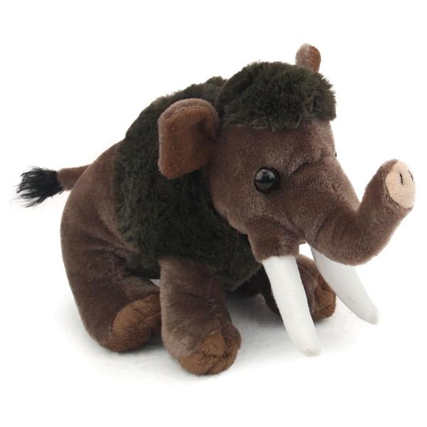 Stuffed Woolly Mammoth Mini Cuddlekin By Wild Republic At Stuffed Safari