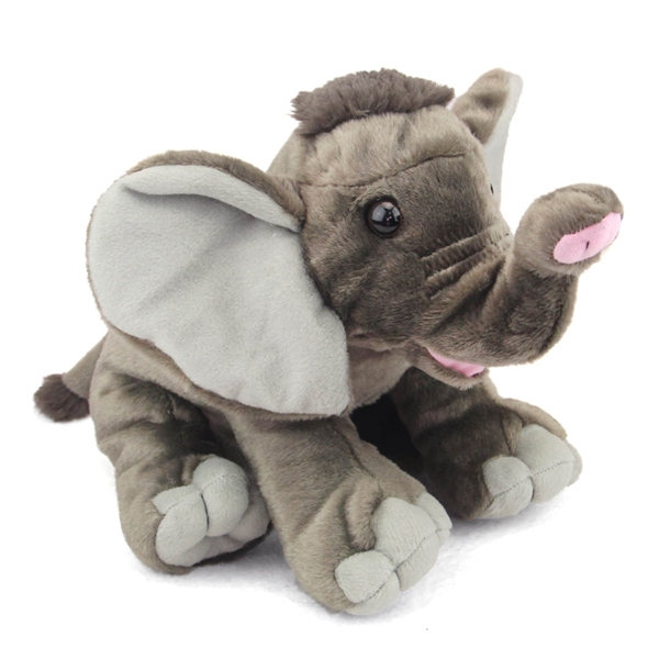 Baby Plush Elephant 10 Inch Stuffed Animal Cuddlekin By Wild