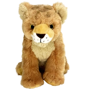 Baby Plush Lion 9 Inch Stuffed Wild Cat Cuddlekin By Wild Republic