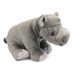 Cuddlekins Baby Rhinoceros Stuffed Animal by Wild Republic