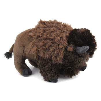 Plush Bison 10 Inch Stuffed Animal Cuddlekin by Wild Republic