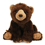 Plush Brown Bear 10 Inch Stuffed Bear Cuddlekin by Wild Republic