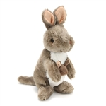 Plush Kangaroo 12 Inch Stuffed Animal Cuddlekin By Wild Republic