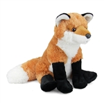 Plush Red Fox 12 Inch Stuffed Animal Cuddlekin By Wild Republic