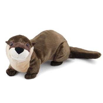 Plush River Otter 15 Inch Stuffed Animal Cuddlekin by Wild Republic