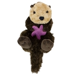 Plush Sea Otter 15 Inch Stuffed Animal Cuddlekin By Wild Republic