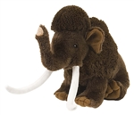 Plush Woolly Mammoth 12 Inch Stuffed Animal Cuddlekin By Wild Republic