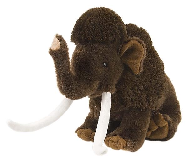 Plush Woolly Mammoth 12 Inch Stuffed Animal Cuddlekin By Wild