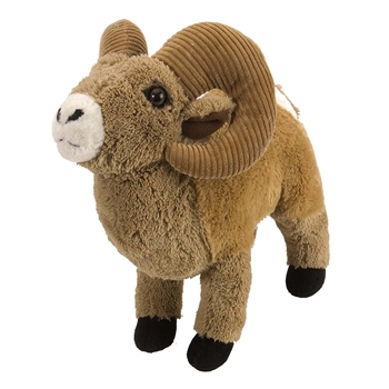 Plush Bighorn Sheep 12 Inch Stuffed Animal Cuddlekin By Wild Republic