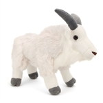 Plush Mountain Goat 12 Inch Stuffed Animal Cuddlekin By Wild Republic
