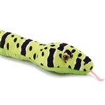 Stuffed Green Rock Rattlesnake 54 Inch Plush Snake By Wild Republic