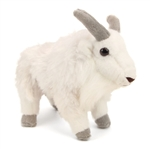 Stuffed Mountain Goat Mini Cuddlekin by Wild Republic