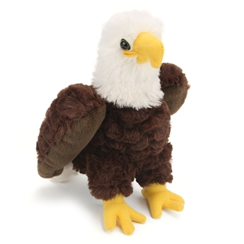 Stuffed Bald Eagle Mini Cuddlekin by Wild Republic