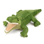Plush Alligator 23 Inch Stuffed Reptile Cuddlekin by Wild Republic