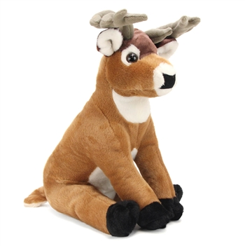 Plush Buck Deer 12 Inch Stuffed Animal Cuddlekin By Wild Republic