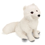 Stuffed Arctic Fox 12 Inch Cuddlekin by Wild Republic