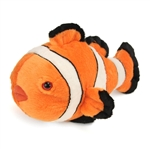 Stuffed Clownfish 12 Inch Cuddlekin by Wild Republic