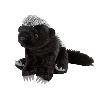 Stuffed Honey Badger 12 Inch Cuddlekin by Wild Republic