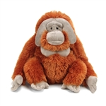 Stuffed Male Orangutan 12 Inch Cuddlekin by Wild Republic