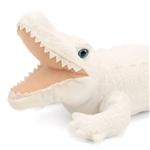 Stuffed White Alligator 23 Inch Cuddlekin by Wild Republic