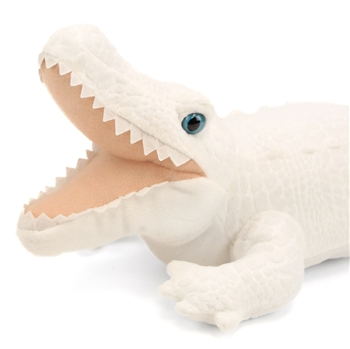 Stuffed White Alligator 12 Inch Cuddlekin by Wild Republic