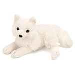 Stuffed Arctic Fox Mini Cuddlekin by Wild Republic