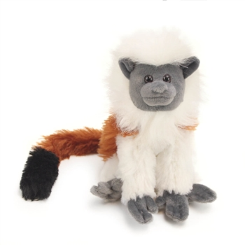 Stuffed Cotton-top Tamarin Mini Cuddlekin by Wild Republic