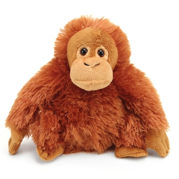 Stuffed Female Orangutan Mini Cuddlekin by Wild Republic