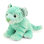 Cuddlekins Green Tiger Stuffed Animal by Wild Republic