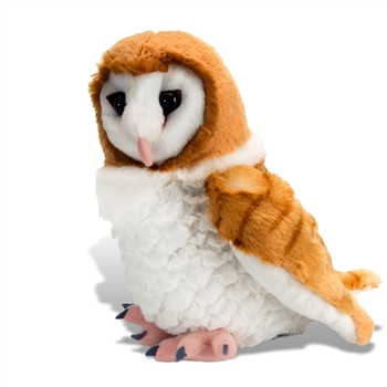Cuddlekins Barn Owl Stuffed Animal by Wild Republic