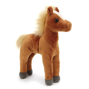 Stuffed Brown Horse Foal Mini Cuddlekin by Wild Republic