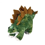 Medium Dinosauria Stegosaurus Stuffed Animal by Wild Republic