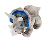 Medium Dinosauria Triceratops Stuffed Animal by Wild Republic