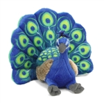 Stuffed Peacock Mini Cuddlekin by Wild Republic