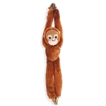 Hanging Orangutan Stuffed Animal by Wild Republic