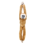 Hanging White Handed Gibbon Stuffed Animal by Wild Republic