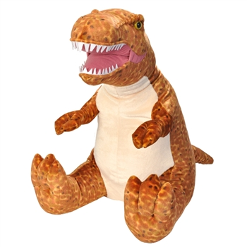 Jumbo Sitting Stuffed T-Rex Little Biggies by Wild Republic