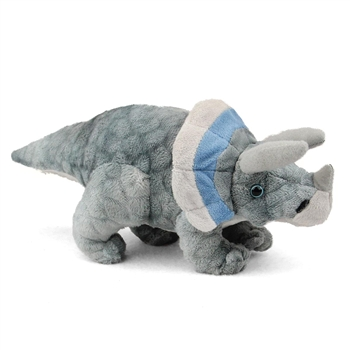 Small Dinosauria Triceratops Stuffed Animal by Wild Republic
