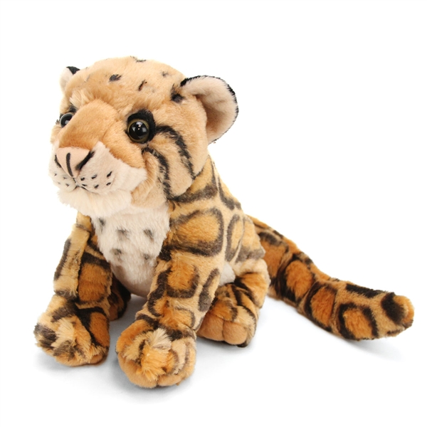 Cuddlekins Clouded Leopard Stuffed Animal By Wild Republic At