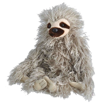 Stuffed Three-toed Sloth Mini Cuddlekins by Wild Republic