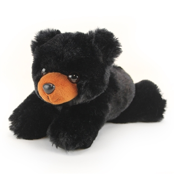 Hug Ems Small Black Bear Stuffed Animal by Wild Republic