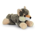 Hug Ems Small Wolf Stuffed Animal by Wild Republic
