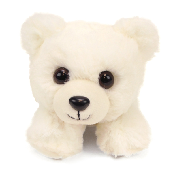 Hug Ems Small Polar Bear Stuffed Animal By Wild Republic At Stuffed