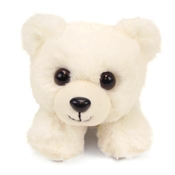 Hug Ems Small Polar Bear Stuffed Animal by Wild Republic